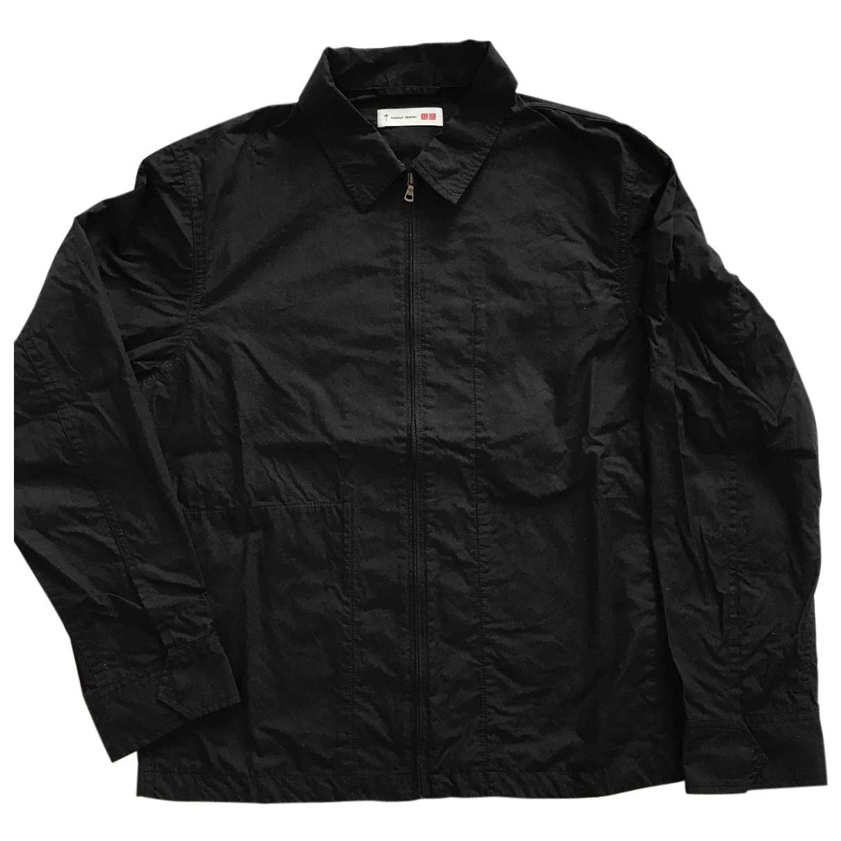 Tomas Maier - Chemises   pour homme en coton - noir