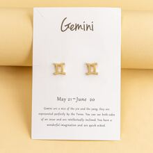 Constellation Design Stud Earrings