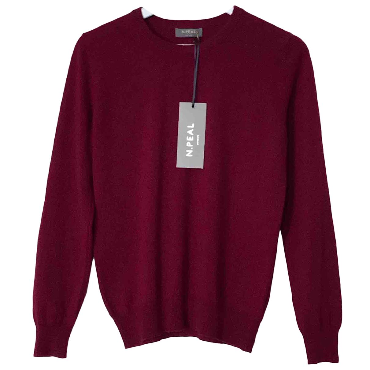 N. Peal N Burgundy Cashmere Knitwear for Women S International