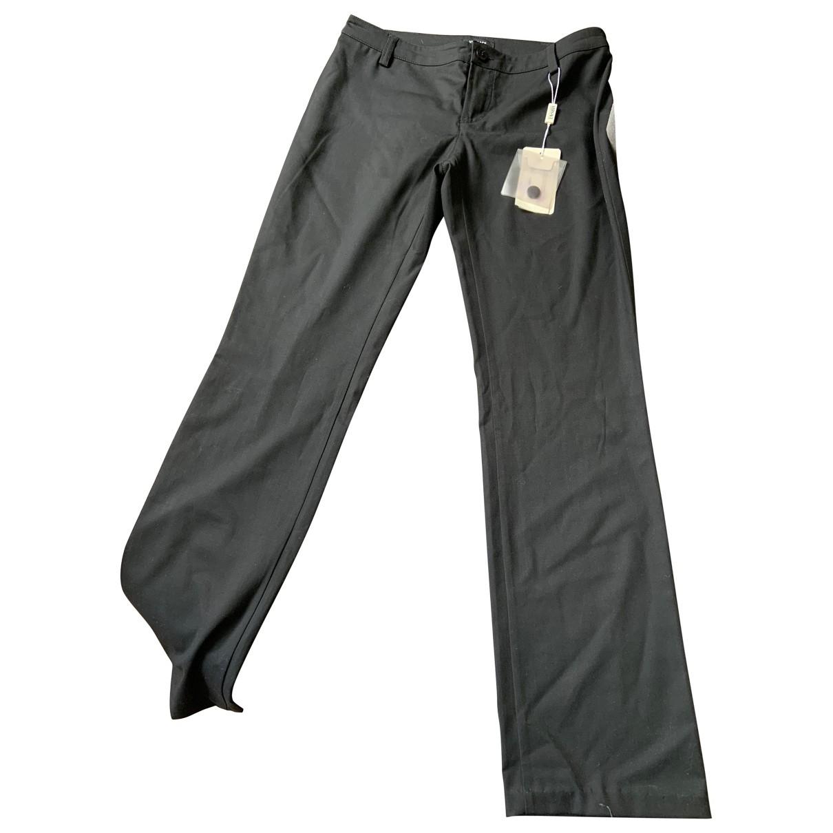 Versace Jeans \N Black Trousers for Women XS International