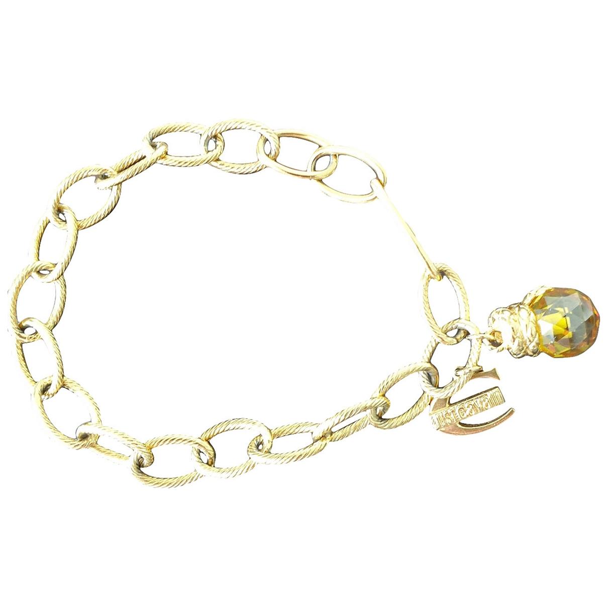 Just Cavalli - Bracelet   pour femme en metal - dore