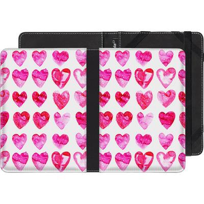 Amazon Kindle Paperwhite 3G eBook Reader Huelle - Heart Speckle von Amy Sia