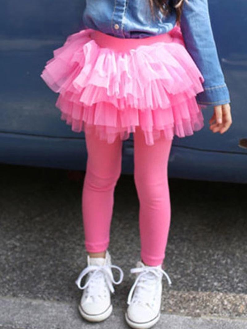 Ericdress TUTU Skirt Girls Warm Thick Leggings