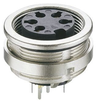 Lumberg 5 Pole Din Socket Socket, DIN EN 60529, 5A, 60 V ac IP68