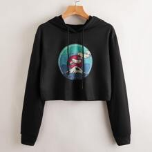 Mountain Graphic Hoodie