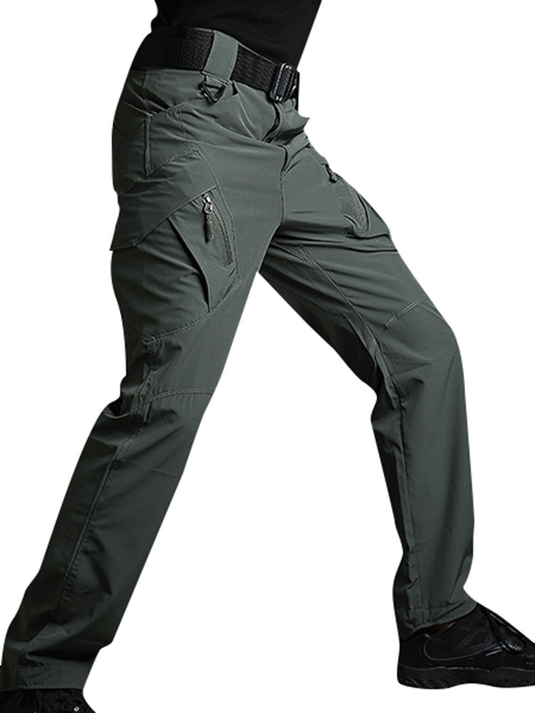 Mens Outdoor Quick-drying Tactical Cargo Pants Military Training Pants