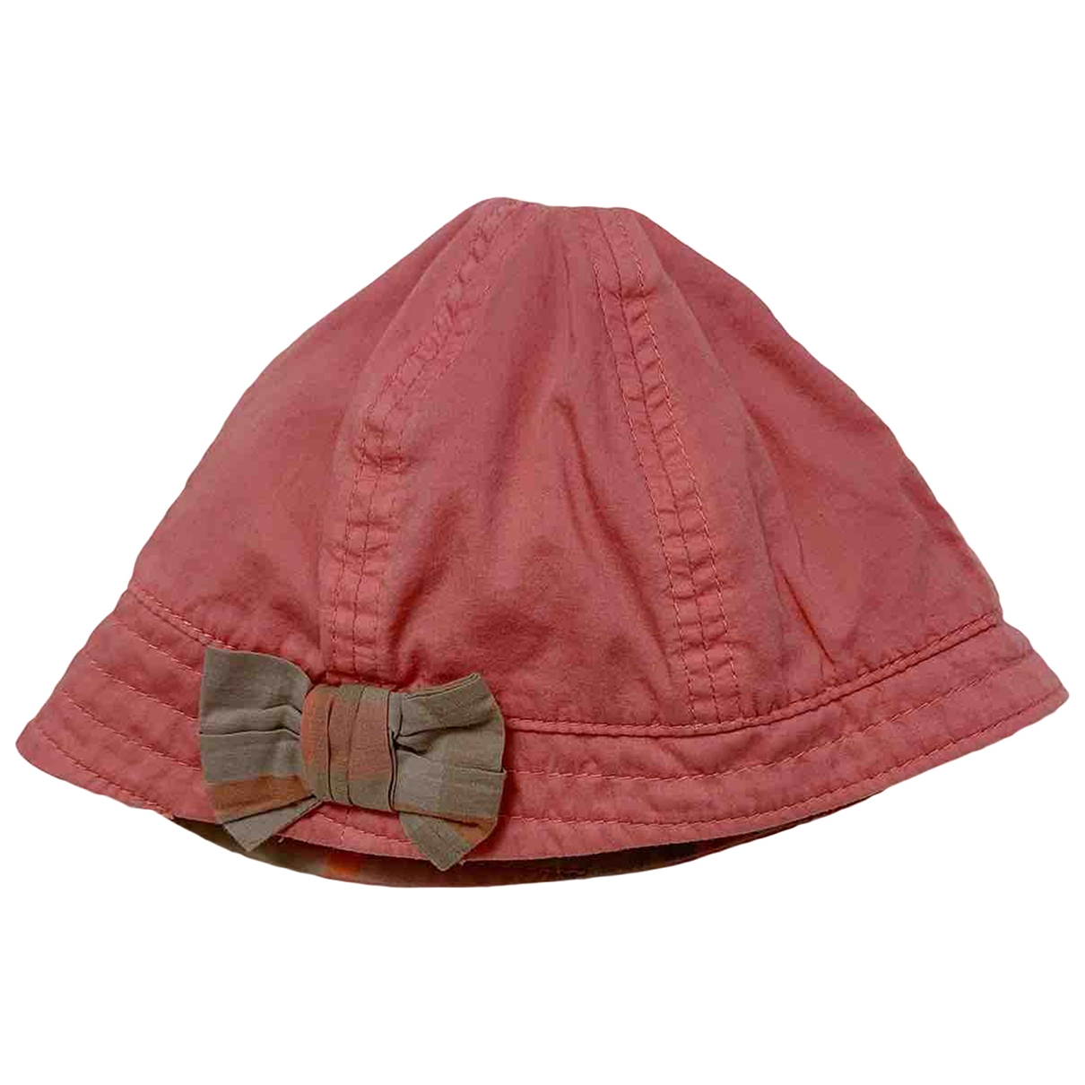 Burberry \N Pink Cotton hat & Gloves for Kids \N