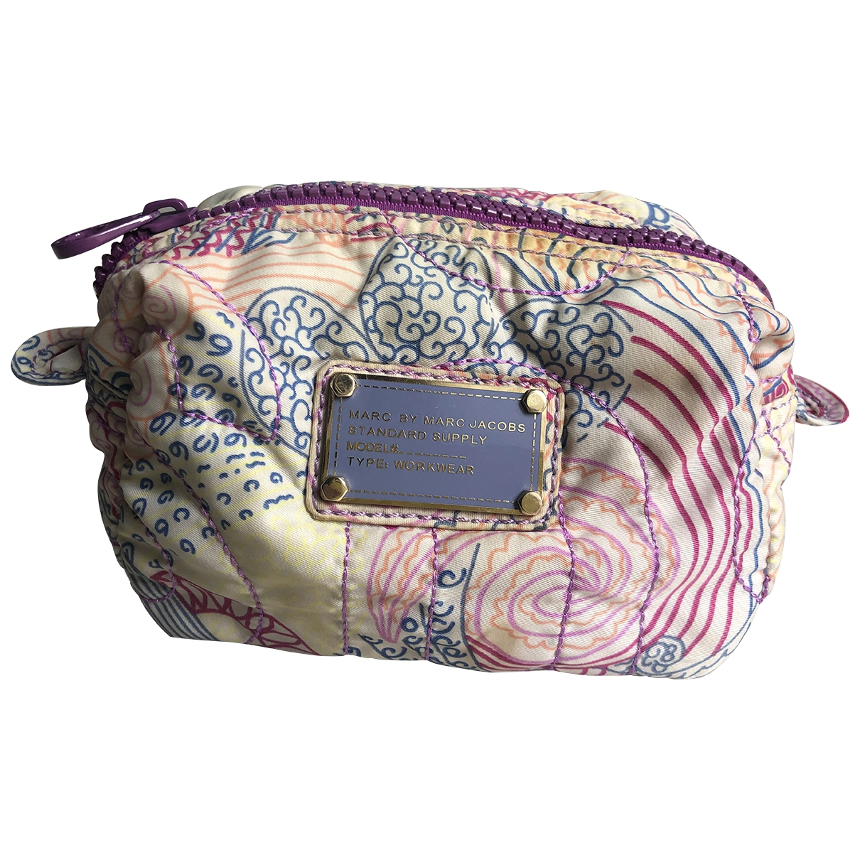 Marc By Marc Jacobs \N Purple Cotton Clutch bag for Women \N