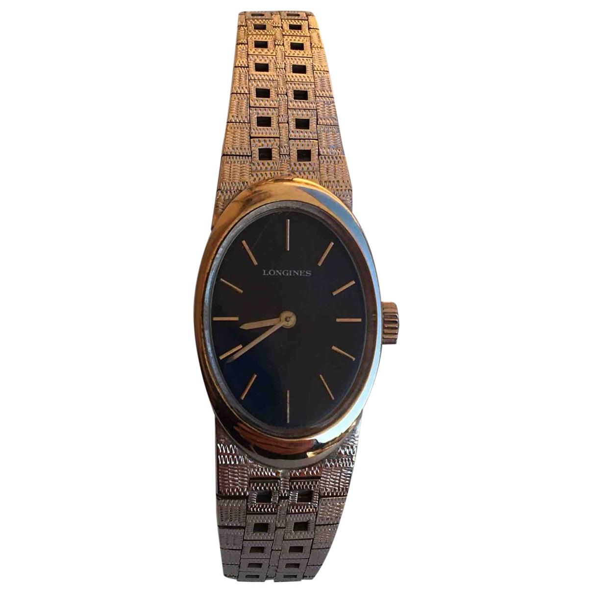 Reloj de Oro blanco Longines