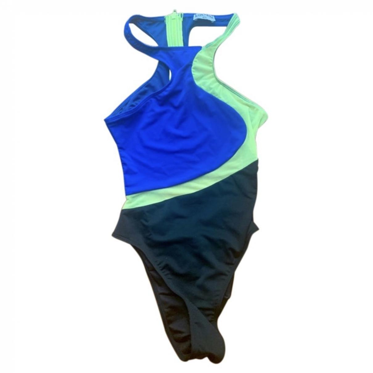 Non Signé / Unsigned \N Blue Swimwear for Women 34 FR