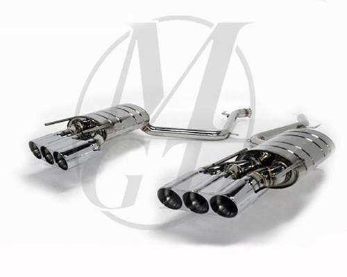 Meisterschaft ME0911210 Stainless GT Racing Exhaust 6x83mm Tips Mercedes-Benz S550 V8 Sedan 06+