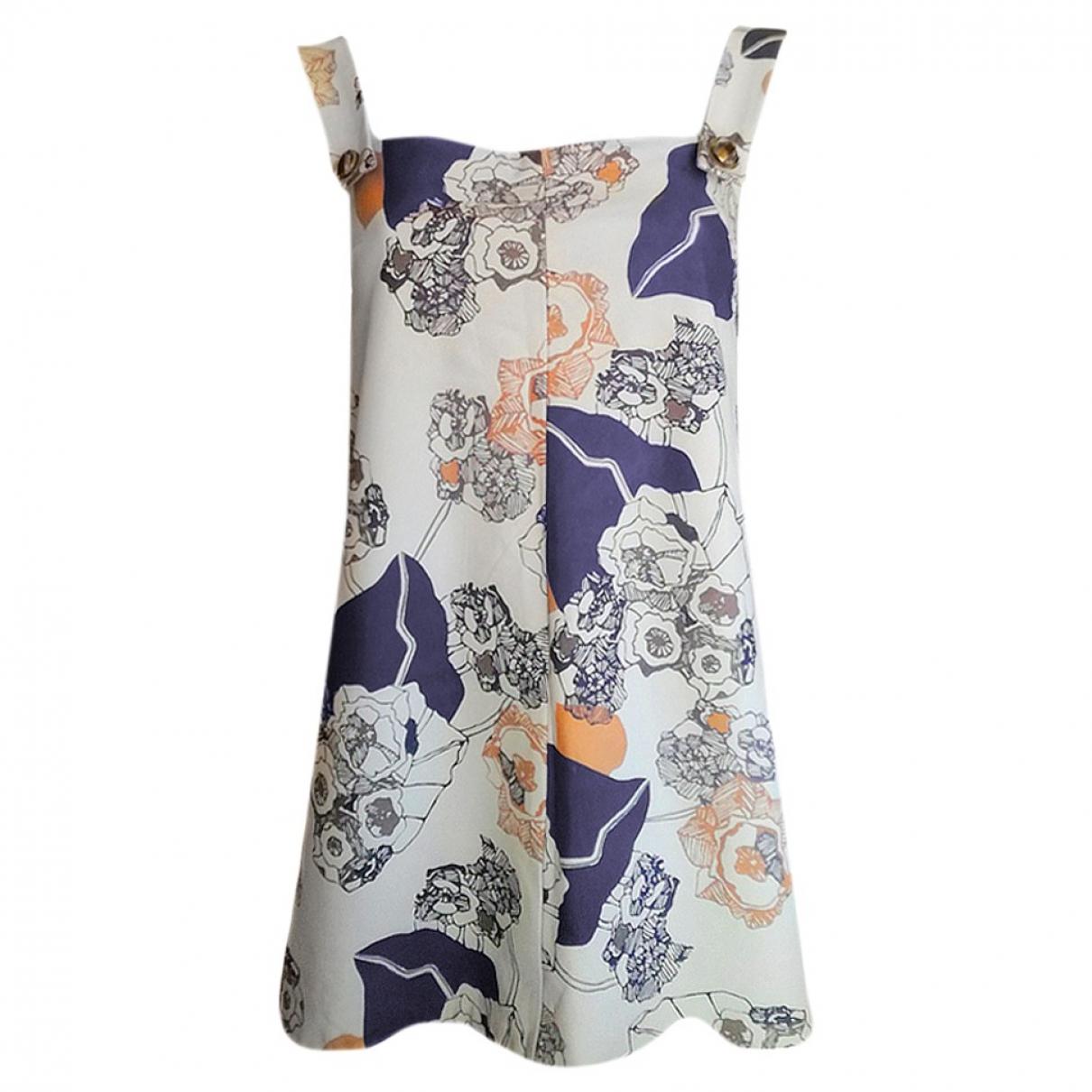 - Robe   pour femme en cuir - multicolore