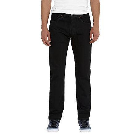 Levi's Men's 501 Original Fit Jeans, 32 32, Black