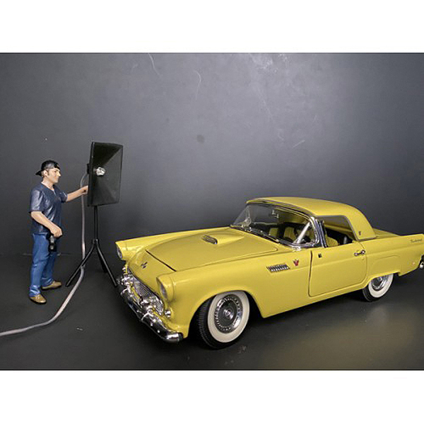 Weekend Car Show Figurine V for 1/18 Scale Models by American Diorama
