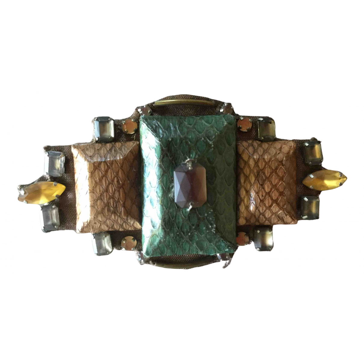 Maliparmi \N Multicolour Leather Pins & brooches for Women \N