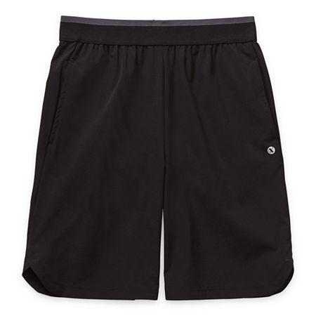 Xersion Little & Big Boys Mid Rise Basketball Short, Medium (10-12) , Black