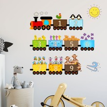 Kids Train Print Wall Sticker