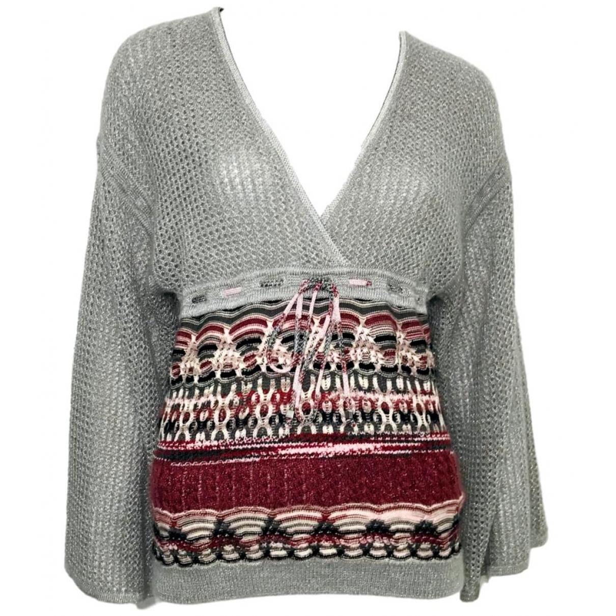 Missoni - Pull   pour femme en laine - gris