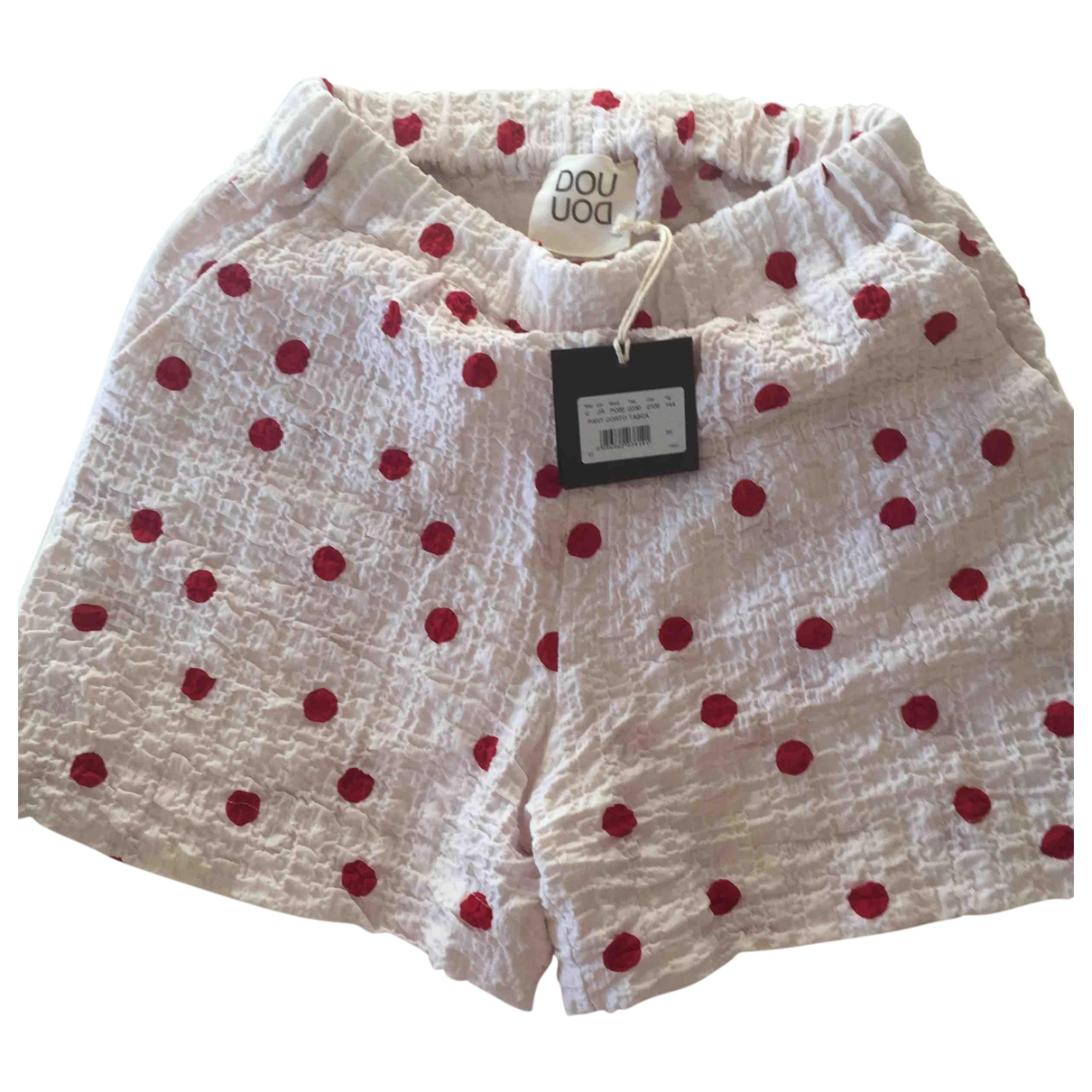 Douuod \N Cotton Shorts for Women S International