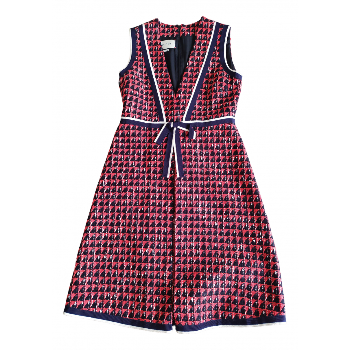 Gucci N Red Tweed dress for Women 40 IT