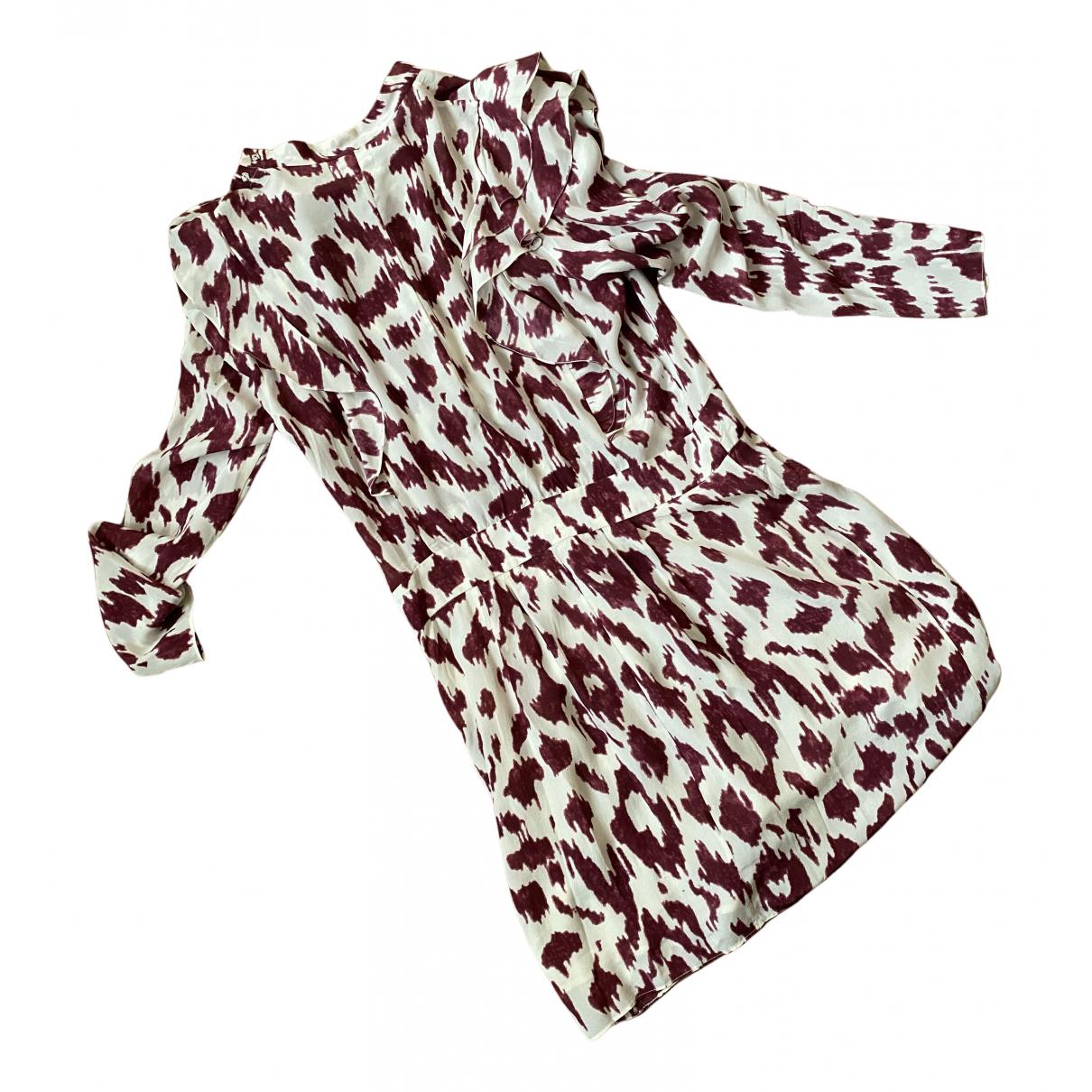 Isabel Marant Etoile - Robe   pour femme en soie - ecru