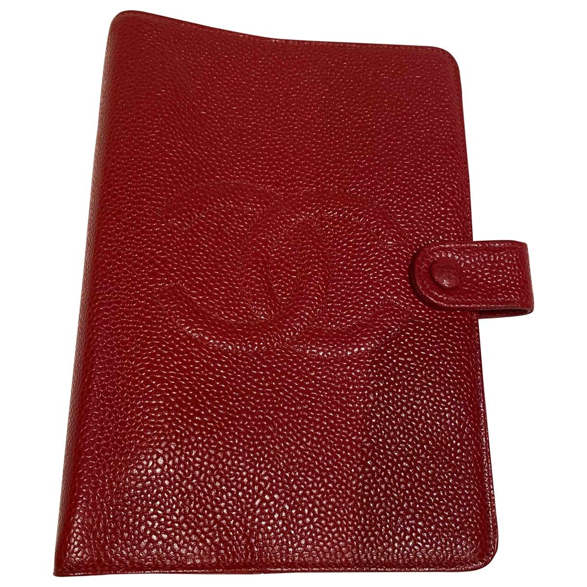 Chanel - Objets & Deco   pour lifestyle en cuir - rouge