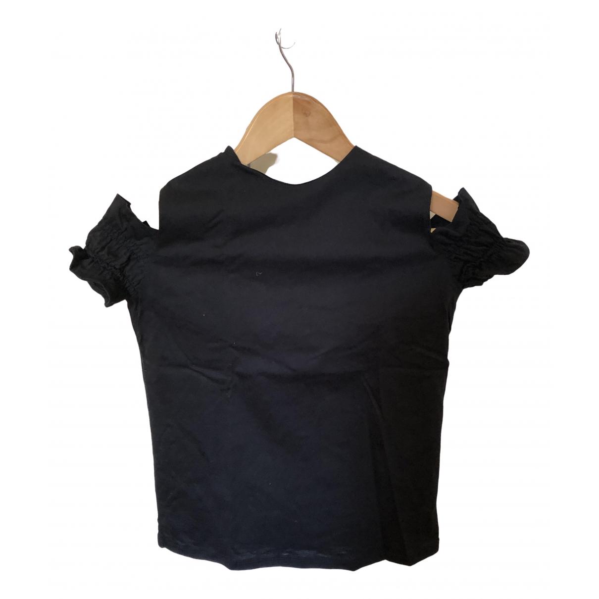 Maje - Top Spring Summer 2019 pour femme en coton - noir