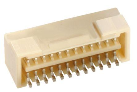 Molex , Micro-Lock, 504189, 24 Way, 2 Row, Right Angle PCB Header (5)