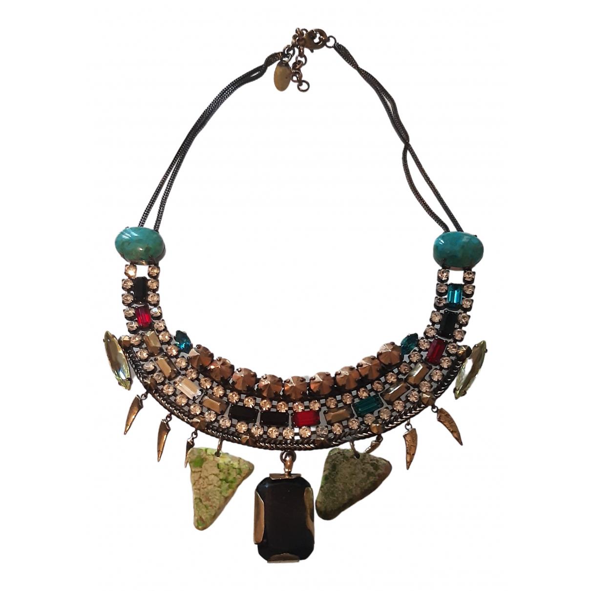 Iosselliani - Collier   pour femme en metal - multicolore
