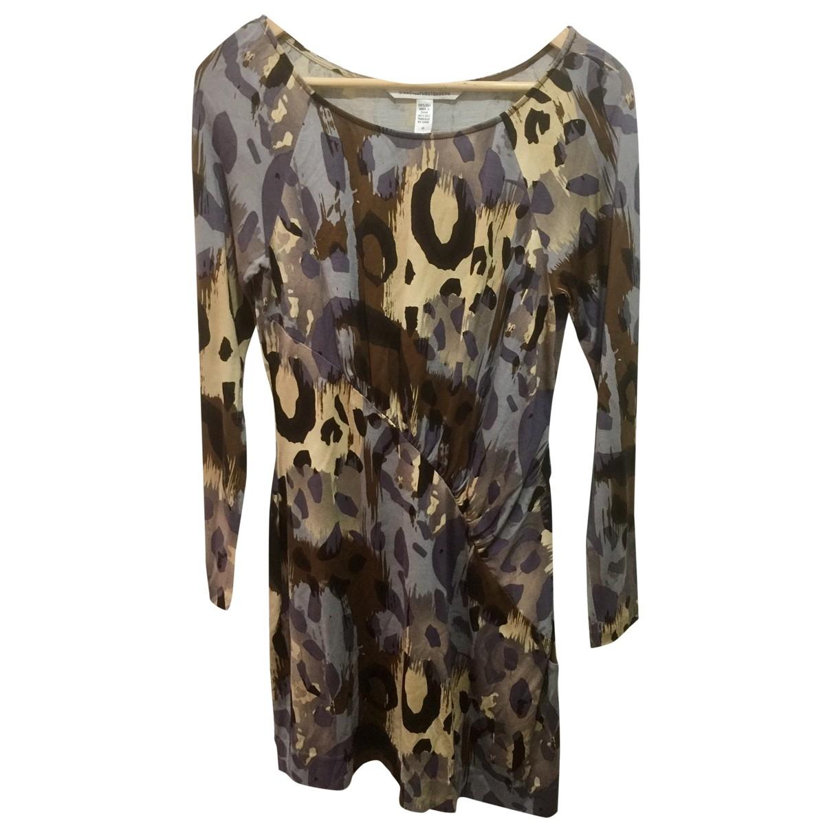Diane Von Furstenberg \N Multicolour Silk dress for Women 10 US