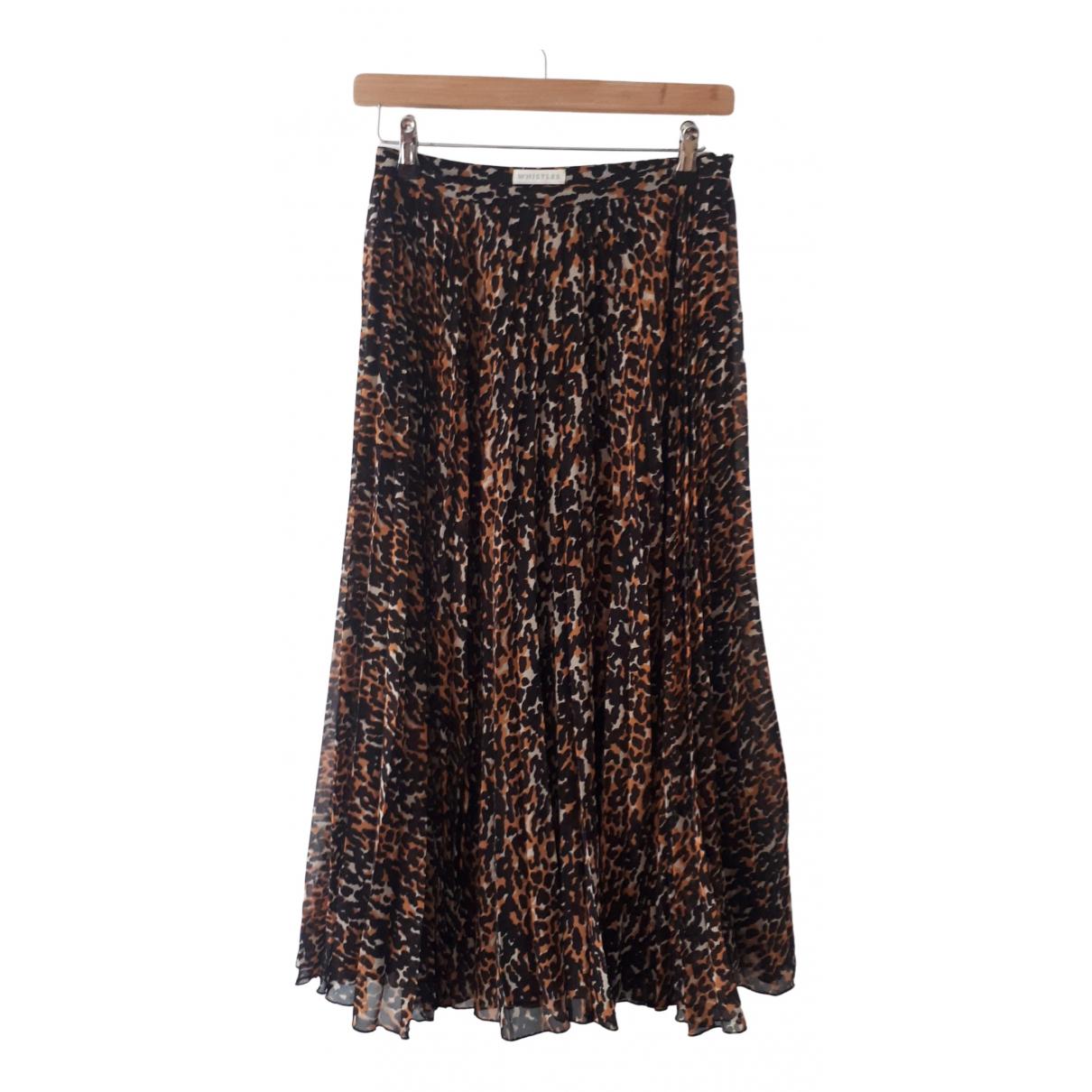 Whistles \N Brown skirt for Women 8 UK