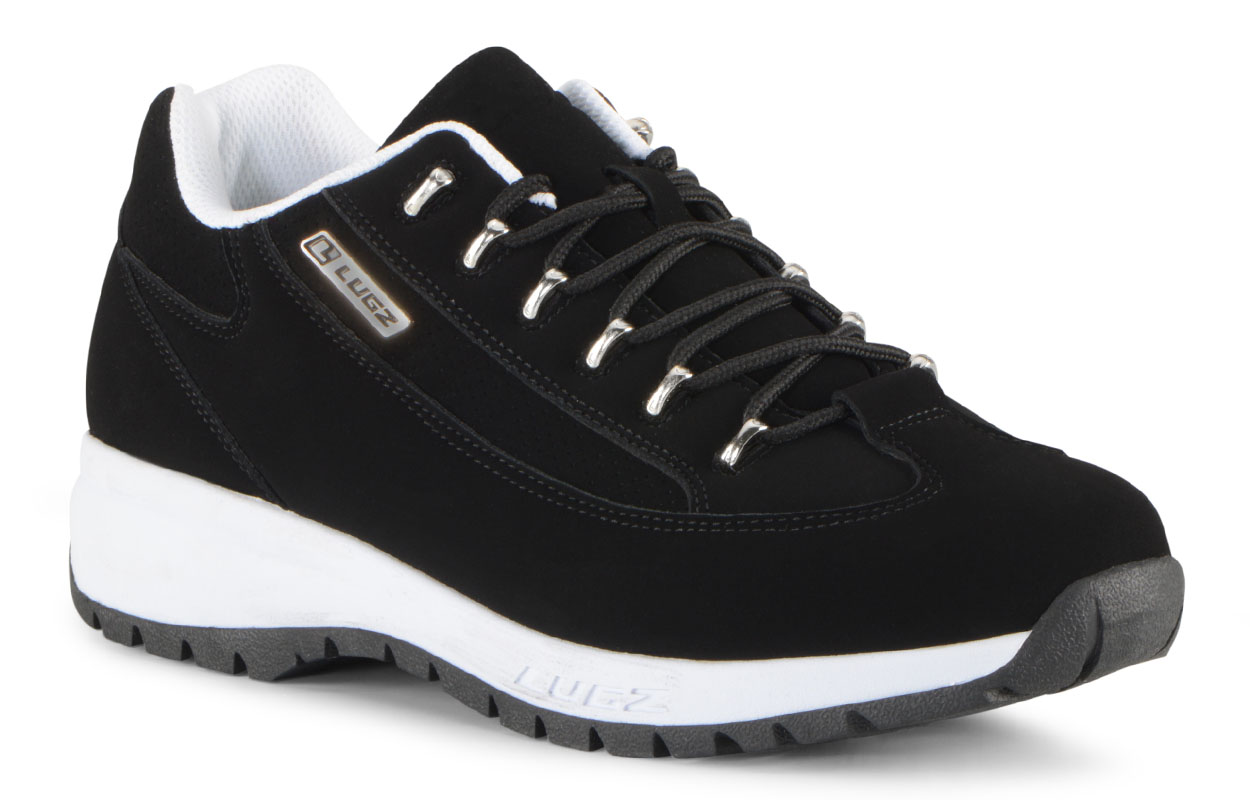Men's Express Oxford Sneaker (Choose Your Color: Black/White, Choose Your Size: 6.5)