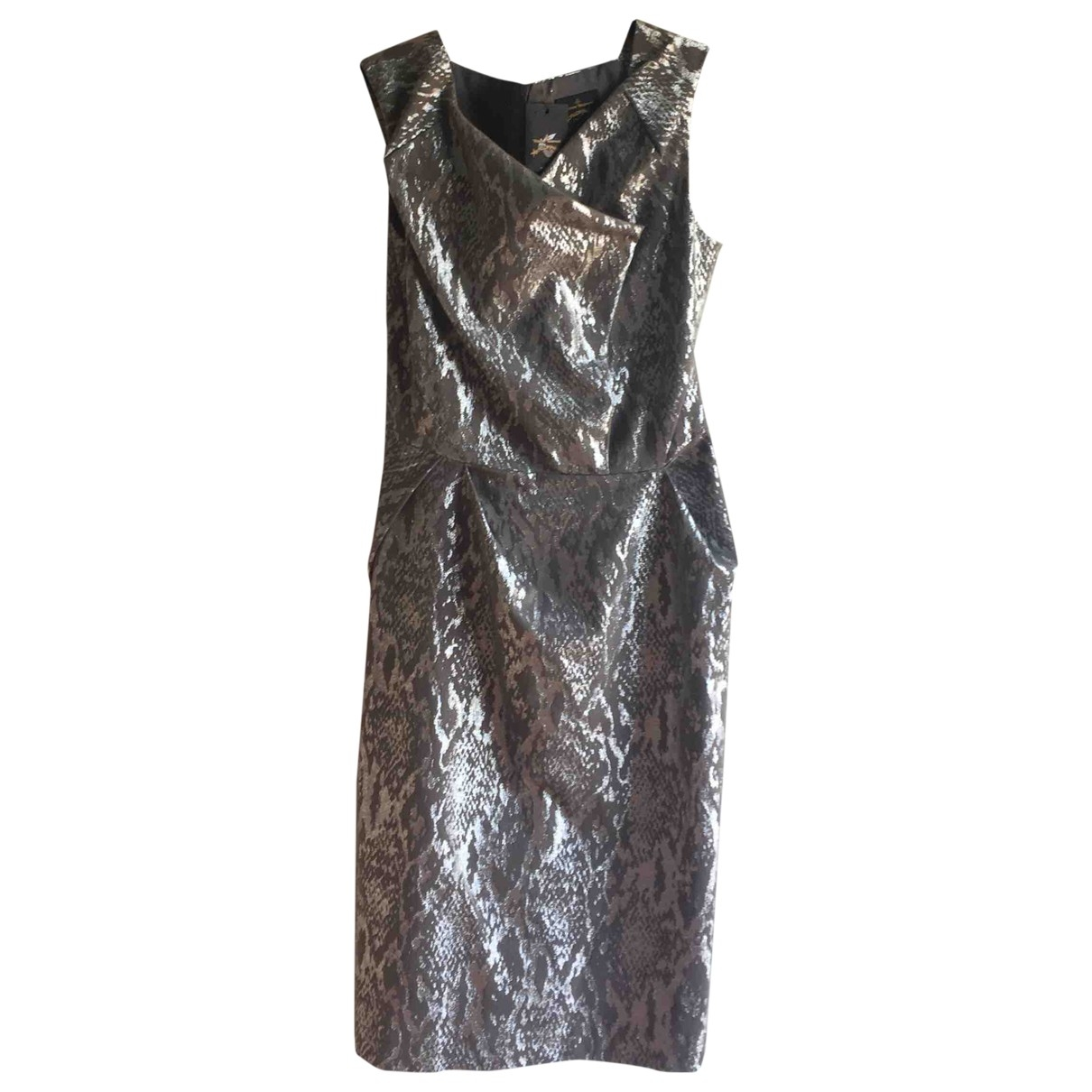 Vivienne Westwood Anglomania \N Kleid in  Metallic Baumwolle