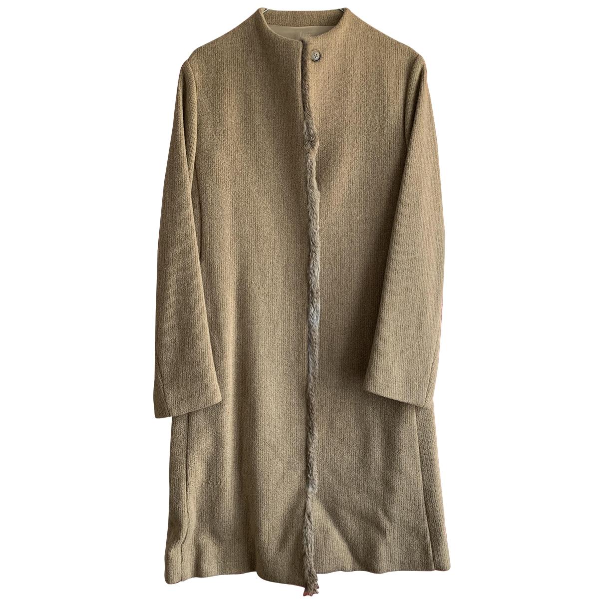 Henry Cotton \N Maentel in  Kamel Wolle