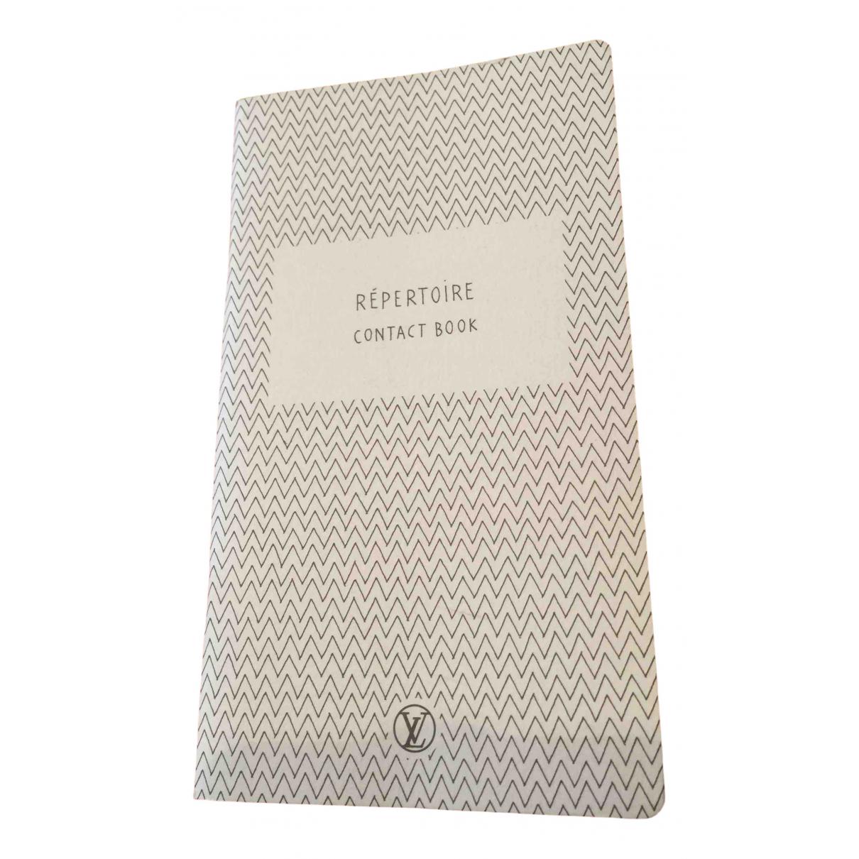 Louis Vuitton - Objets & Deco   pour lifestyle en coton - noir