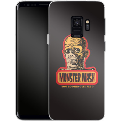 Samsung Galaxy S9 Silikon Handyhuelle - Monster Mash von caseable Designs