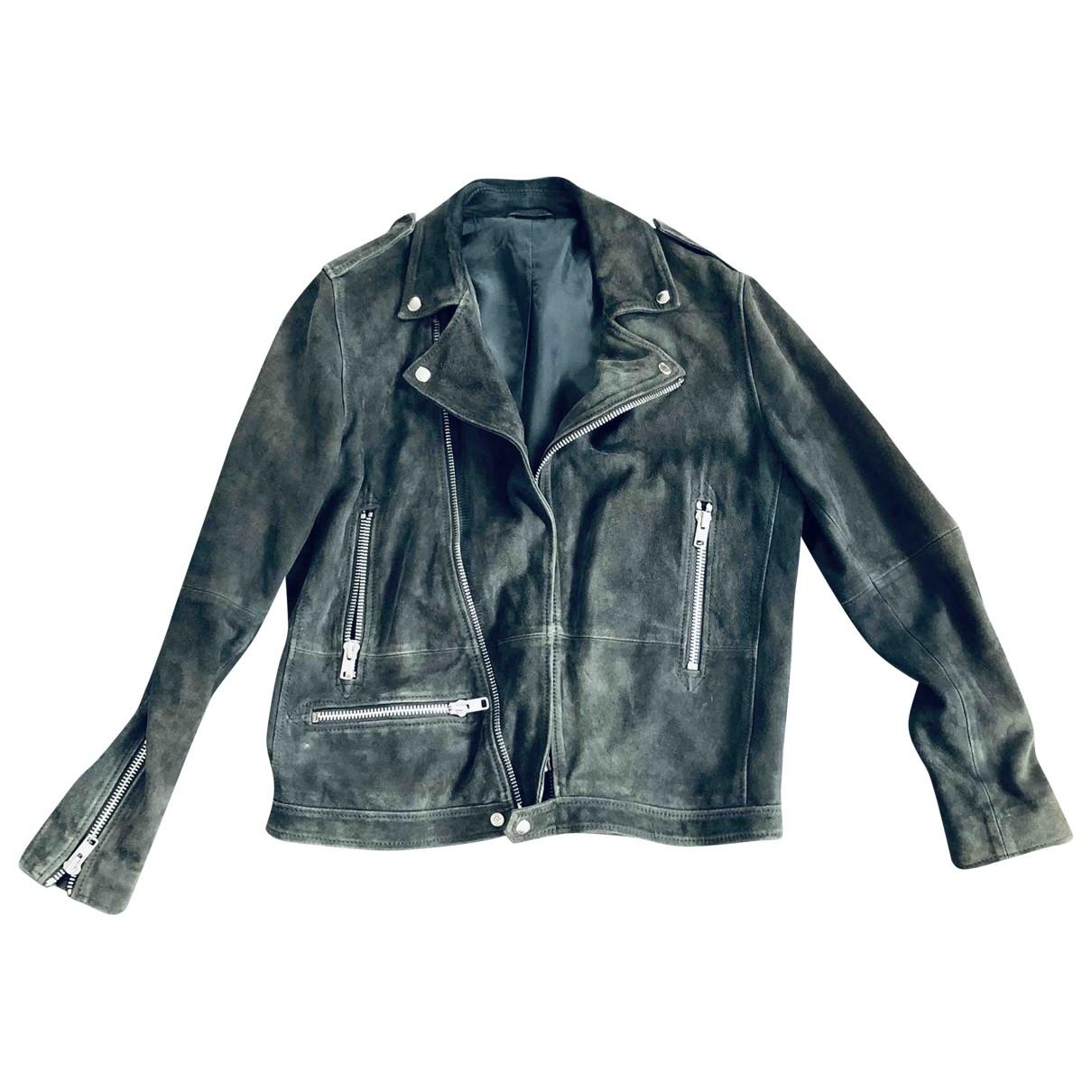 Samsoe & Samsoe \N Green Suede jacket  for Men L International