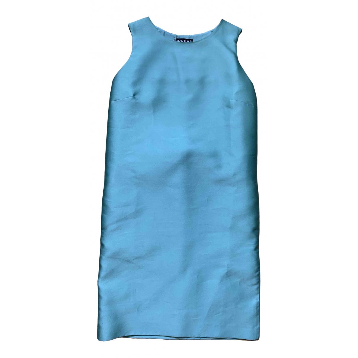 Rochas \N Turquoise dress for Women 40 IT