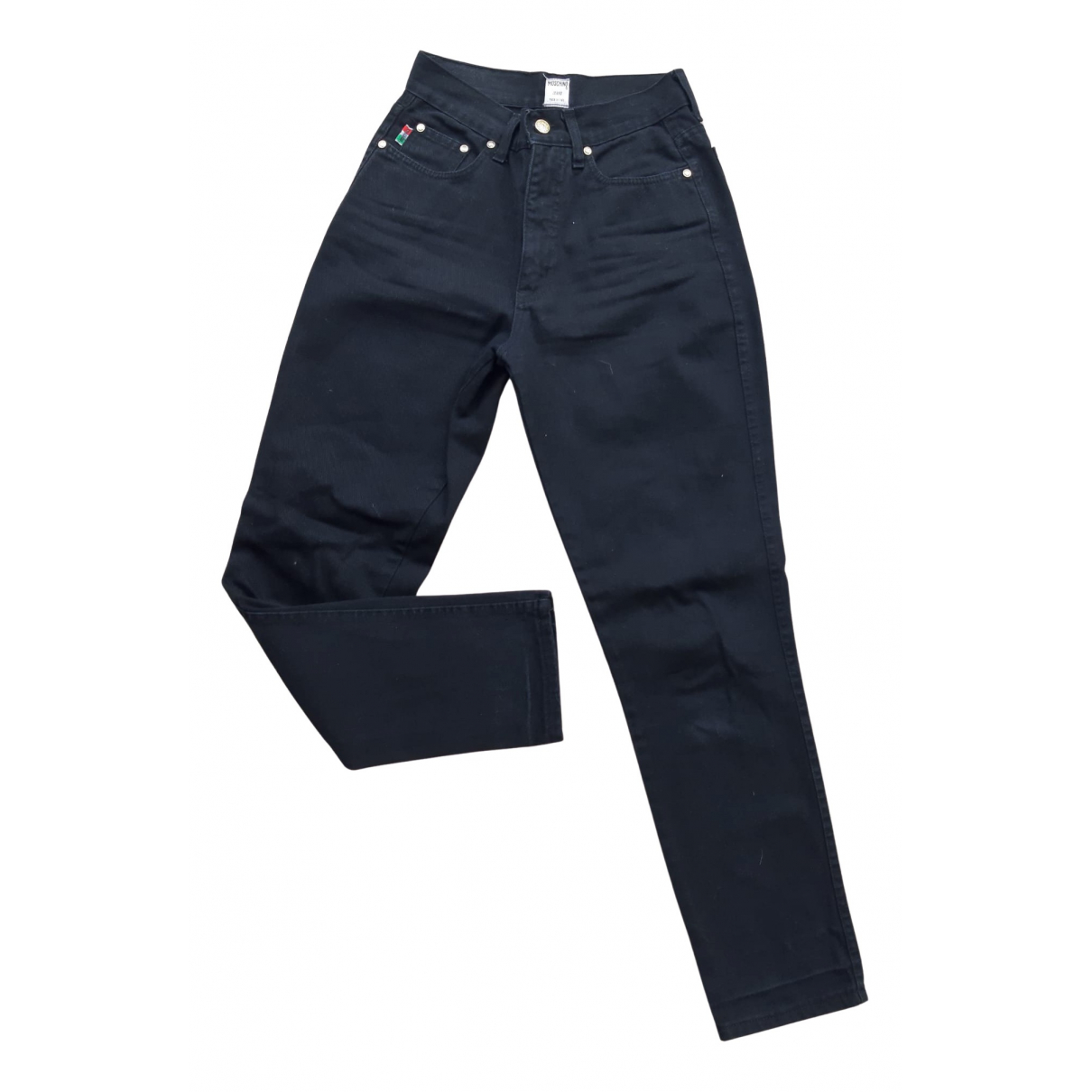 Moschino N Black Denim - Jeans Jeans for Women 30 US