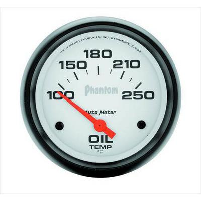 Auto Meter Phantom Electric Oil Temperature Gauge - 5847