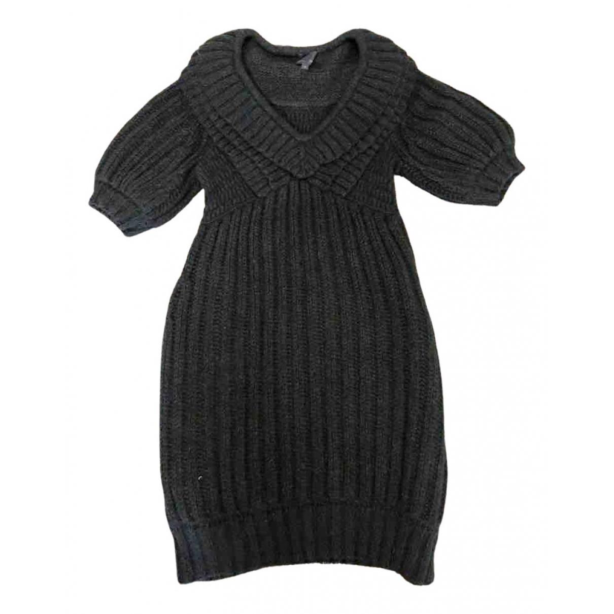 Fendi \N Kleid in  Gruen Wolle