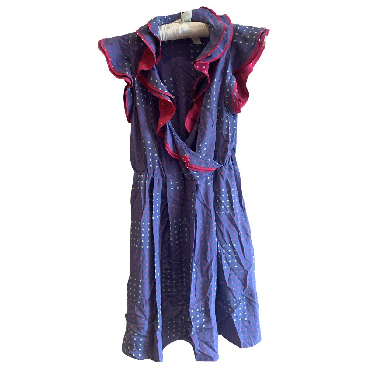 Marc By Marc Jacobs - Robe   pour femme en soie - multicolore