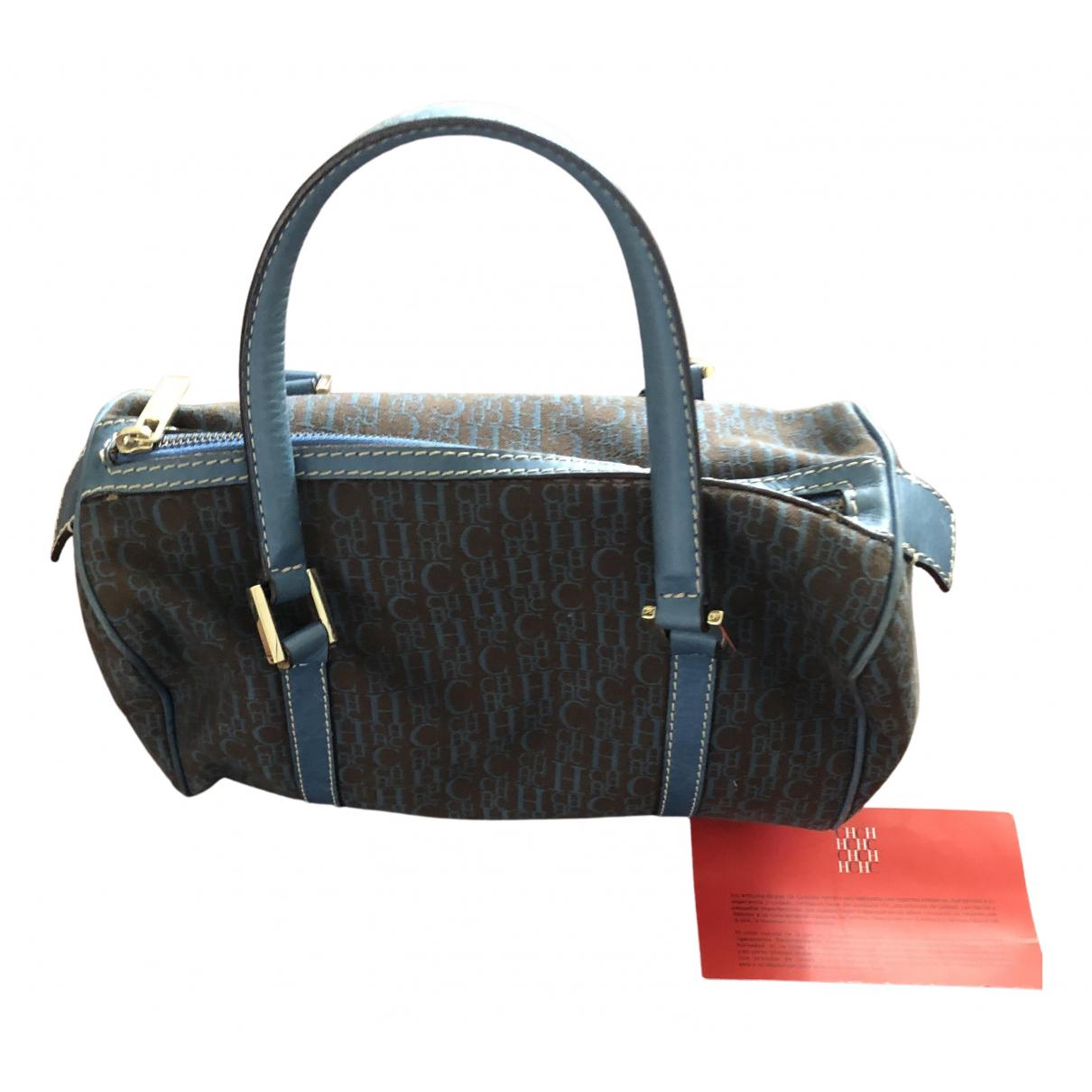 Carolina Herrera N Blue Cloth handbag for Women N