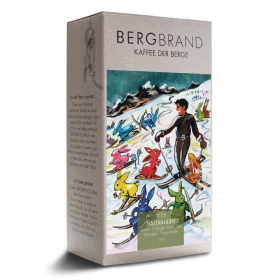 "Kaffeebohnen Bergbrand Kaffeerosterei ""Hasenalarm Kaffee"", 250 g"