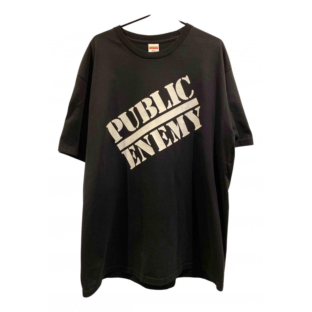 Supreme X Undercover - Tee shirts   pour homme en coton - noir