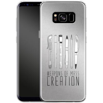 Samsung Galaxy S8 Silikon Handyhuelle - Weapons Of Mass Creation von Bianca Green