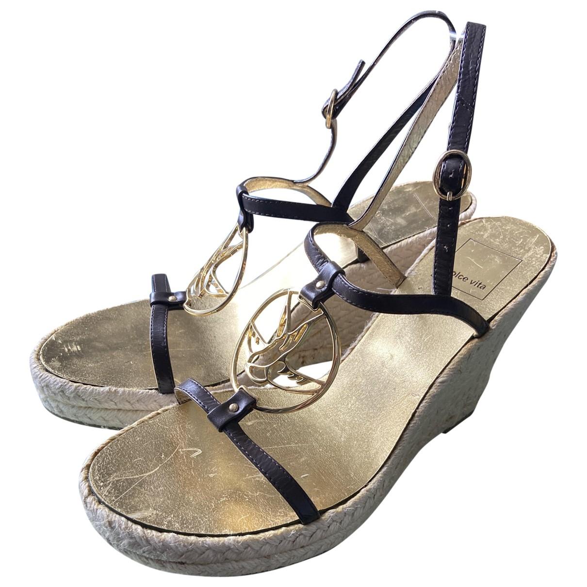 Sandalias de Cuero Dolce Vita