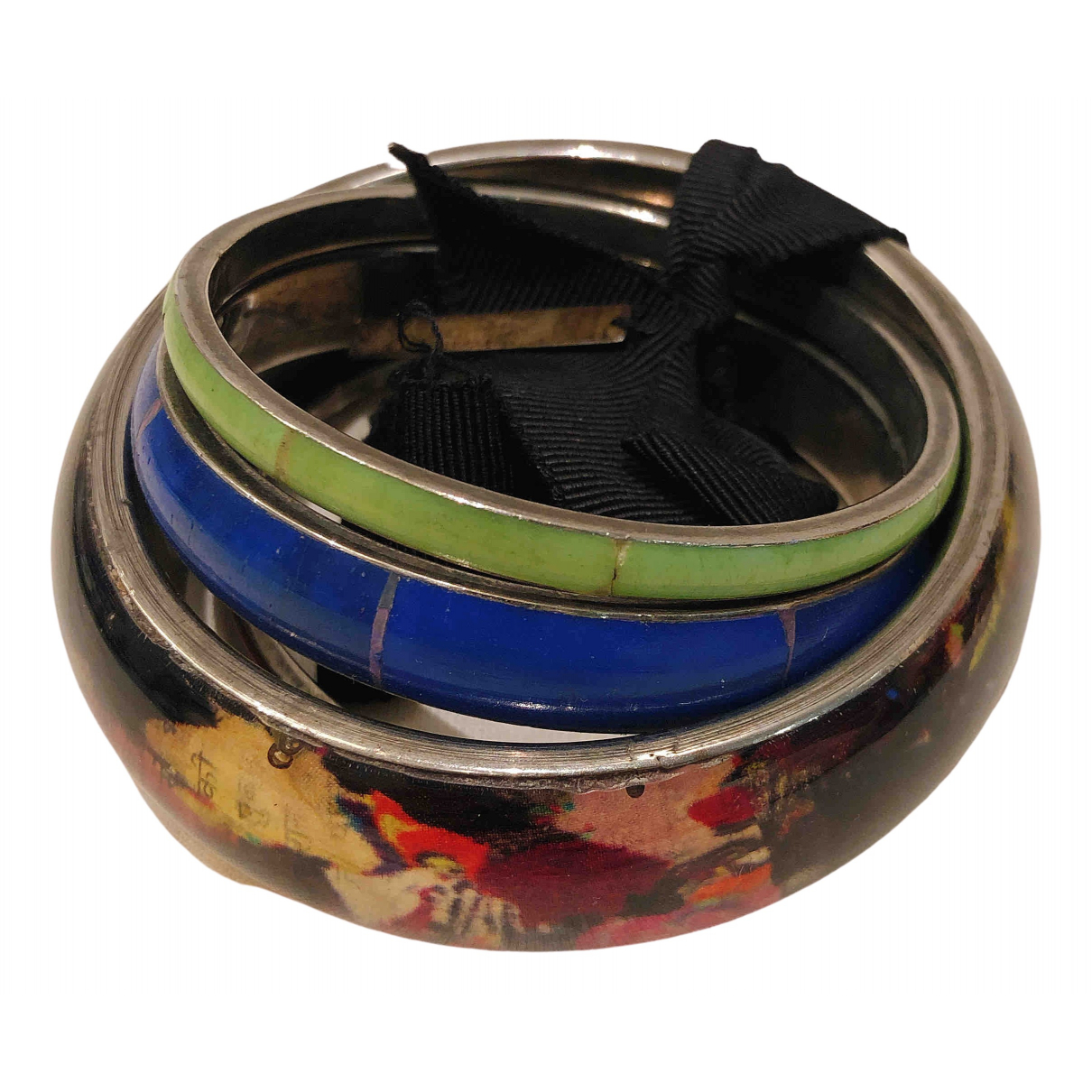 Dries Van Noten - Bracelet   pour femme en metal - multicolore