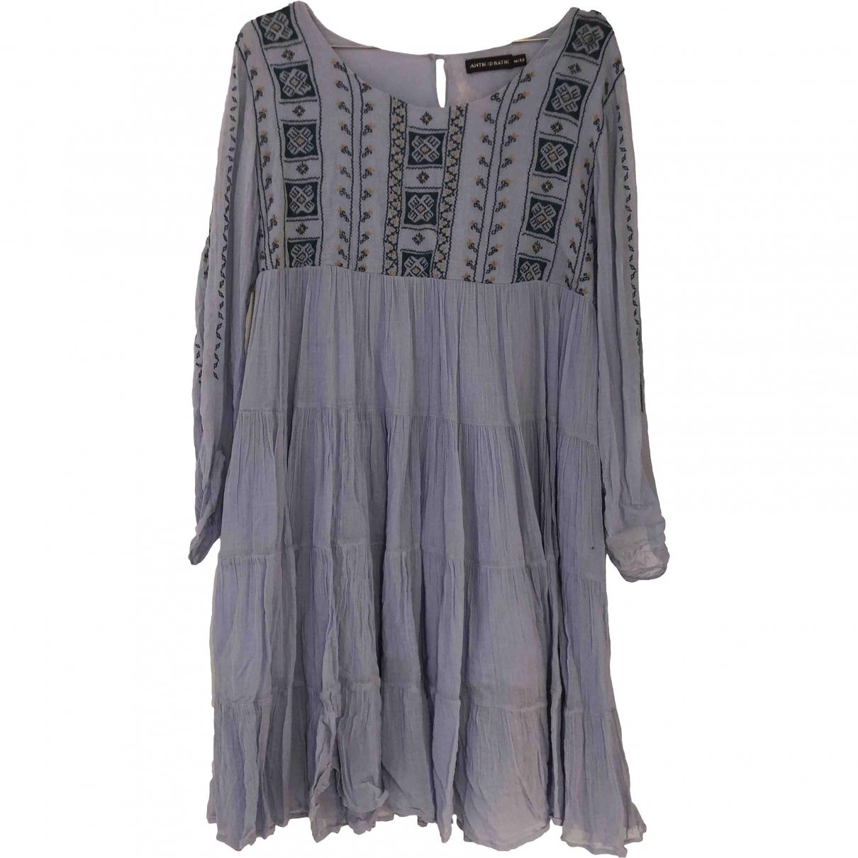 Antik Batik \N Blue Cotton dress for Women 40 FR