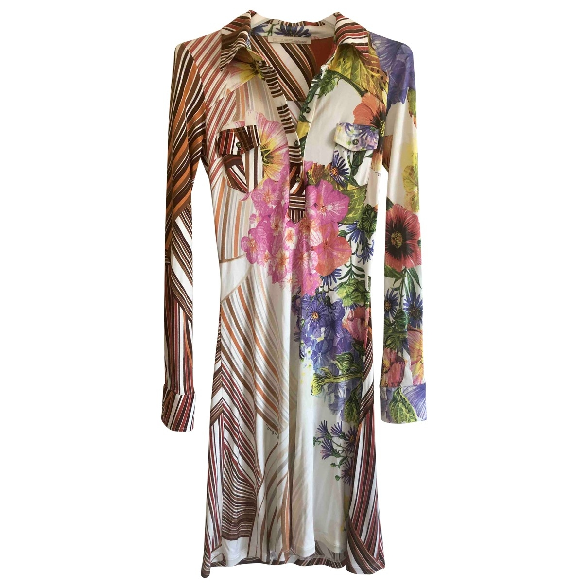 Class Cavalli \N Silk dress for Women 42 IT